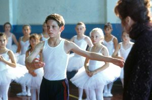 "Scena dal film ""Billy Elliot"""