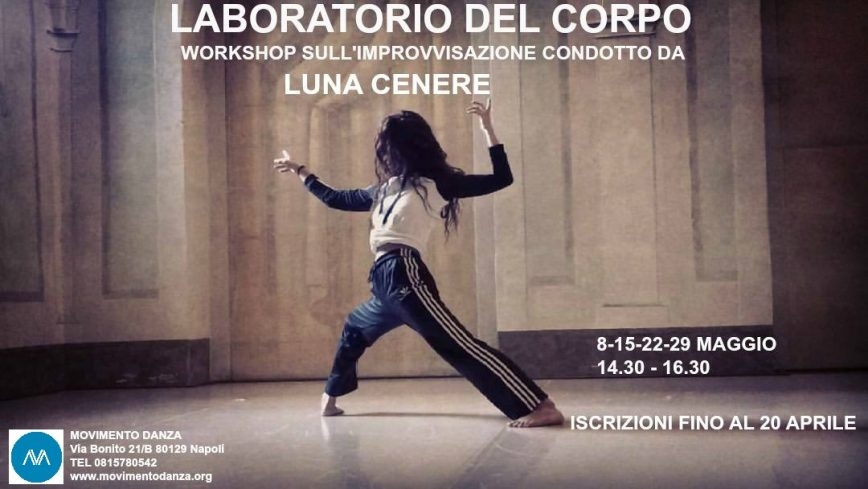 visual workshop Luna Cenere Maggio 2017
